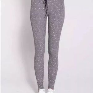 Sundry Pants - Sundry Gray Yoga Pants NWT